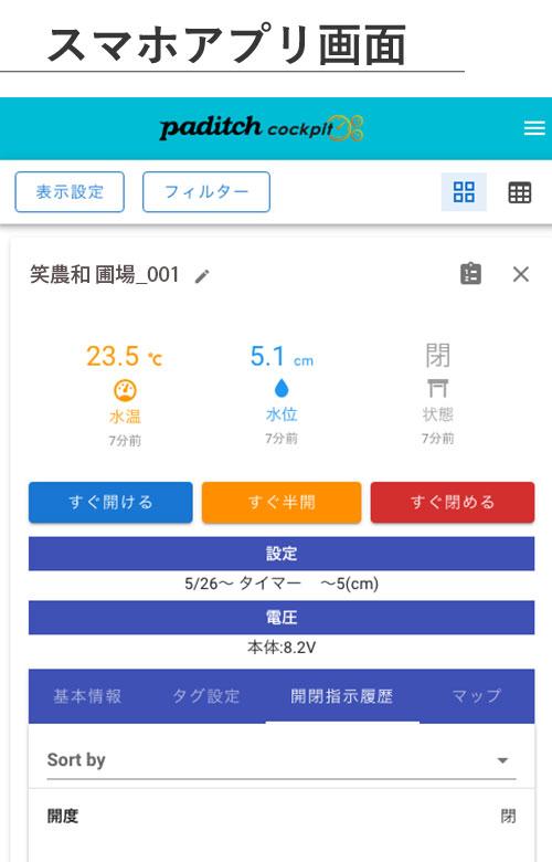 スマホアプリ画面
